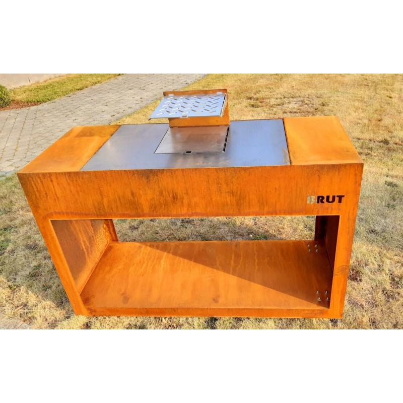 insert double face fogo montanha heka. Black Bedroom Furniture Sets. Home Design Ideas
