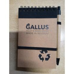 Gallus bloc note