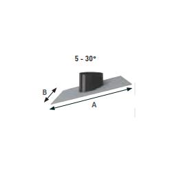 Solin toit en pente 5°/30°...