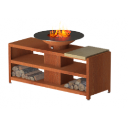 BRUT PLANCHA TABLE + Grill